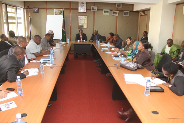 The meeting between Tanzania and Kenya Law Reform Commisions