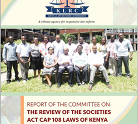 review societies act klrc